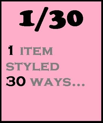 1 item 30 ways